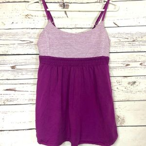 Lululemon Bliss Tank Top Dewberry Wee Stripe 8